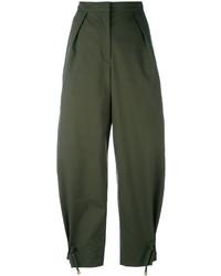 Kenzo Cropped Wide Leg Trousers
