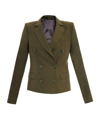 Olive double breasted blazer original 2630013
