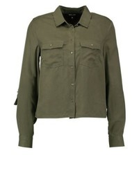 New Look Shirt Dark Khaki