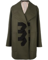 Olive Duffle Coat
