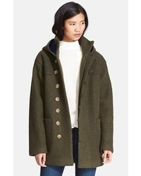 Current/Elliott Charlotte Gainsbourg For Hooded Duffle Coat