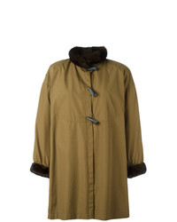 Yves Saint Laurent Vintage Toggled Coat