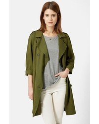Olive Duster Coat