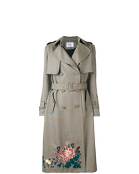 Erdem Embroidered Trench Coat