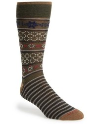 Lorenzo Uomo Fair Isle Socks