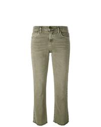 Current/Elliott Frayed Kick Flare Jeans