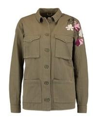 Topshop Summer Jacket Khaki