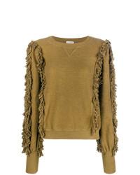 Ulla Johnson Fringed Knit Sweater