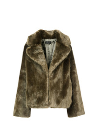 Olive Fur Jacket