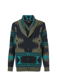 Alanui Patterned Cashmere Cardigan