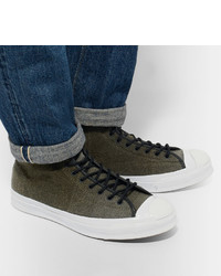8c5914a0a243 Converse Woolrich Jack Purcell Signature Wool High Top Sneakers ...