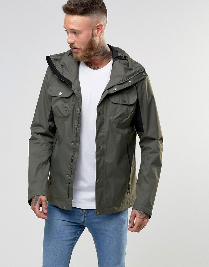 ba09558fe50a ... The North Face Arrano Jacket In Green ...