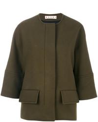 Marni Cropped Sleeve Jacket