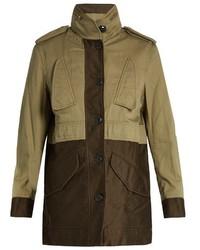 Rag & Bone Kinsley Bi Colour Cotton Jacket