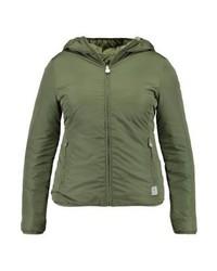 Champion Reversible Jacket Winter Jacket Oliv
