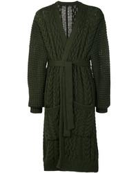 Chunky knit robe cardigan medium 5274594