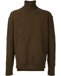 Education From Youngmachines Textured Turtleneck