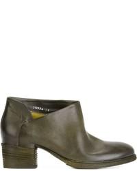 Roberto Del Carlo Block Heel Ankle Boots