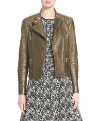 Belstaff Sidney Leather Moto Jacket