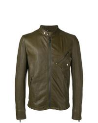 Dolce & Gabbana Zipped Up Bomber Jacket