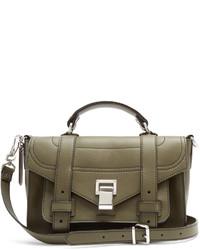 Proenza Schouler Ps1 Tiny Leather Cross Body Bag