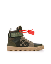 Off-White Industrial Hi Top Sneakers
