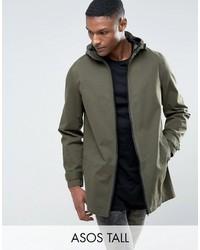 Tall lightweight parka jacket in khaki medium 3717629