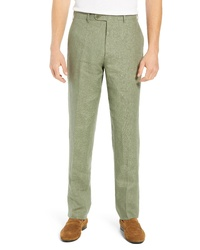 Olive Linen Chinos
