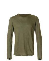 Olive long sleeve t shirt original 9727365
