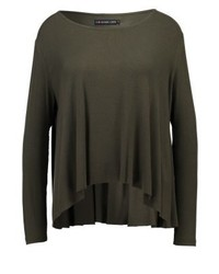 Long sleeved top khaki medium 3894044