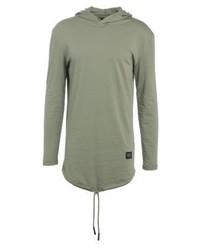 Long sleeved top khaki medium 4161555