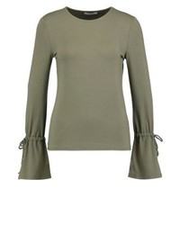 Pcdea long sleeved top deep lichen green medium 3894037