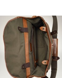 Polo Ralph Lauren Canvas Leather Messenger
