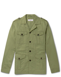 Orlebar Brown 007 The Man With The Golden Gun Cotton And Linen Blend Twill Jacket