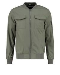 KIOMI Bomber Jacket Khaki