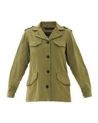 Rag & Bone Carrier Military Cotton Jacket