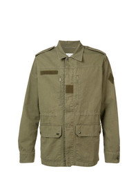 Saint Laurent Collared Military Jacket