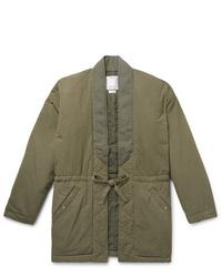 VISVIM Dotera Mil Cotton Blend Coat