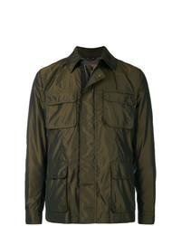Sealup Pocket Front Shirt Jacket