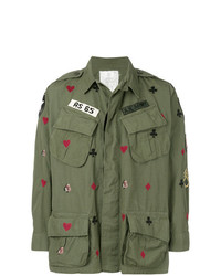 As65 Printed Army Jacket