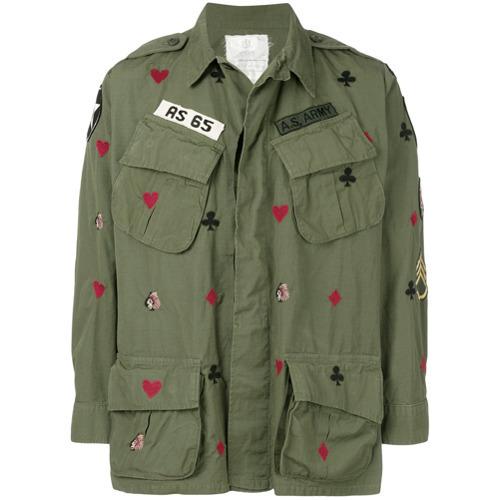 As65 Printed Army Jacket