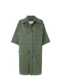 MM6 MAISON MARGIELA Short Sleeve Cargo Coat