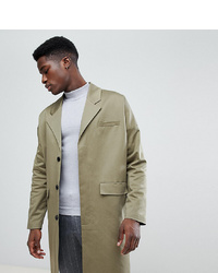 Noak Cotton Duster Coat In Khaki