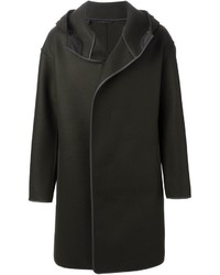 Lanvin Hooded Overcoat