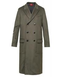 Hugo Boss Lo Classic Coat Dark Green