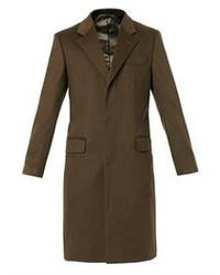 Alexander McQueen Wool And Cashmere Blend Overcoat