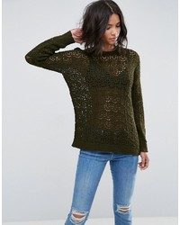 Sweater in crochet in oversized fit medium 3778542