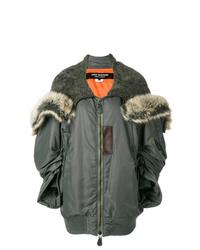 Junya Watanabe Comme Des Garcons Oversized Zip Up Coat
