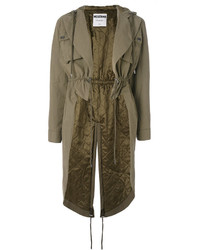 Moschino Drop Tail Hem Parka