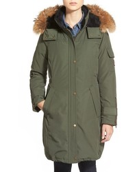 Pendleton North Shore Genuine Coyote Fur Trim Down Parka